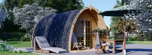 Gartenhaus aus Holz BRETA (28 mm), 3x5 m, 15 m²