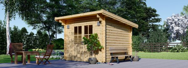 Gartenhaus aus Holz MALTA (34 mm), 3.2x3.2 m, 9 m²