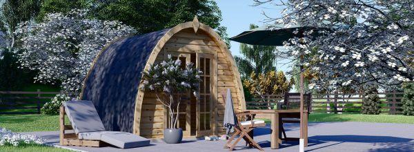Gartenhaus aus Holz BRETA (28 mm) 3x3 m, 9 m²