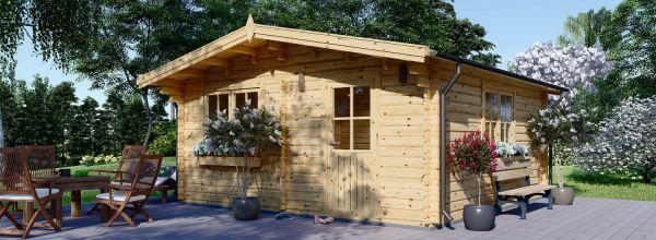Gartenhaus aus Holz DREUX (44 mm), 6x6 m, 36 m²