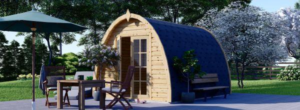 Gartenhaus aus Holz BRETA (28 mm) 3x4 m, 12 m²