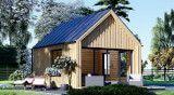 Kleine Holzhäuser