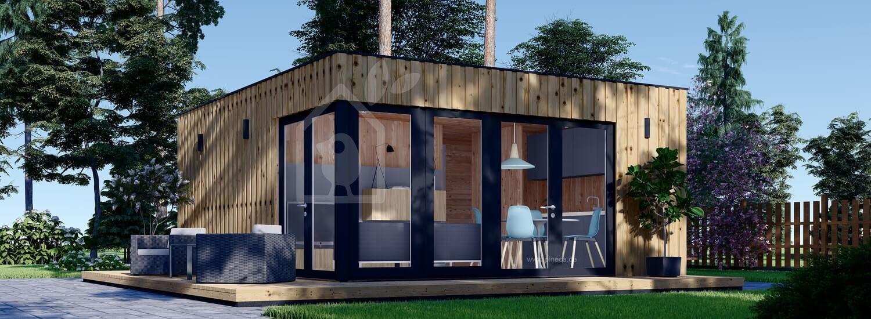 Modern Gartenhaus PREMIUM (Isoliert, SIPS), 6x5 m, 30 m² visualization 1