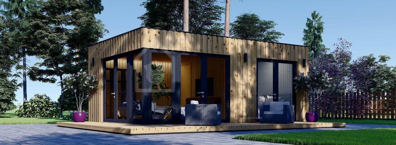 Gartenhaus PREMIUM (Isoliert, SIPS), 6.5x4.5 m, 30 m² visualization 1