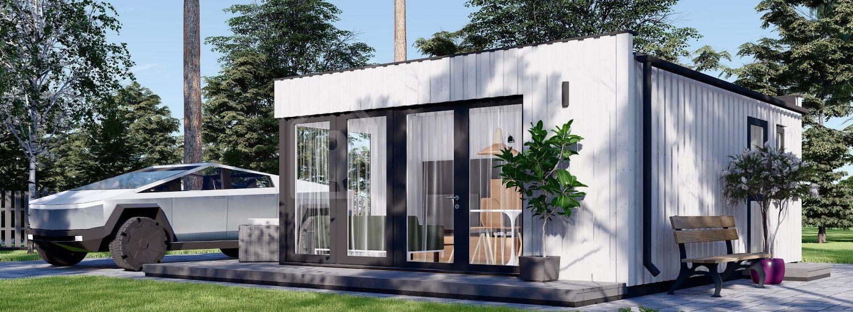 Einliegerwohnung Gartenhaus ELON (SIP-Paneele, Isoliert), 6x5 m, 30 m² visualization 1