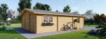Doppelgarage aus Holz (44 mm) 6x8 m, 48 m² visualization 7
