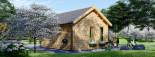 Gartenhaus CLOCKHOUSE (44 mm) 5.5x4 m, 22 m² visualization 4
