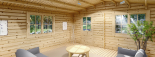 Gartenhaus DREUX (44 mm) 6x6 m, 36 m² visualization 7