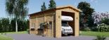 Wohnmobil Garage (44 mm) 4x8 m, 32 m² visualization 2