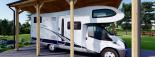 Carport aus Holz für Wohnmobil, 3.5x7 m visualization 7