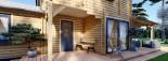 Blockbohlenhaus HOLLAND PLUS (66 mm), 120 m² + 13 m² Terrasse visualization 9