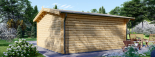 Gartenhaus DREUX (44 mm) 6x6 m, 36 m² visualization 4