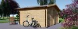 Gartenhaus LILLE (34 mm) 4x3 m, 12 m² visualization 4