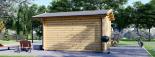Gartenhaus PETER (34 mm) 3x3 m, 9 m² visualization 5