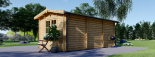 Gartenhaus OAK (44 mm) 6x3 m, 18 m² visualization 5