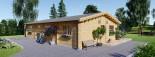 Blockhaus LIMOGES (120 mm) 103 m² visualization 6