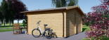 Gartenhaus LILLE (44 mm) 4x3 m, 12 m² visualization 4