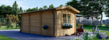 Gartenhaus OAK (44 mm) 6x3 m, 18 m² visualization 4