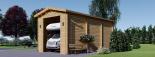 Wohnmobil Garage (44 mm) 4x8 m, 32 m² visualization 4