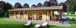 Isoliertes Blockbohlenhaus TOSCANA 50 m² visualization 10