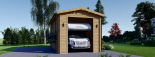 Wohnmobil Garage (44 mm) 4x8 m, 32 m² visualization 3