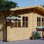Gartenhaus LILLE (34 mm) 4x5 m, 20 m² visualization 1