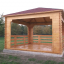 Gartenpavillon (44 mm) 4x4 m, 16 m² customer 1