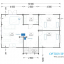 Blockbohlenhaus DONNA (44 mm) 63 m² specification 2