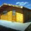 Gartenhaus DREUX (44 mm) 6x6 m, 36 m² customer 1
