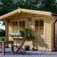 Gartenhaus DREUX (44 mm) 4x3 m, 12 m² visualization 1
