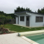 Gartenhaus DREUX (44 mm) 4x3 m, 12 m² mit Flachdach  customer 2