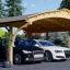 Carport aus Holz für 2 Autos BETSY DUO, 6.1x6 m visualization 1