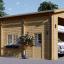 Wohnmobil Garage (44 mm) 4x8 m, 32 m² visualization 1