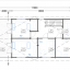 Blockbohlenhaus TOULOUSE (66 mm) 91 m² specification 2