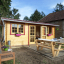 Gartenhaus OAK (44 mm) 6x3 m, 18 m² customer 3