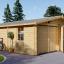 Doppelgarage aus Holz (44 mm) 6x9 m, 54 m² visualization 1