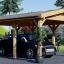 Carport aus Holz für 1 Auto CLASSIC, 3x6 m visualization 1
