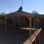 Carport aus Holz für 1 Auto CLASSIC, 3x6 m customer 1