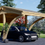 Carport aus Holz für 1 Auto CORA, 3x6 m visualization 1