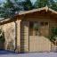 Gartenhaus PETER (34 mm) 3x3 m, 9 m² visualization 1