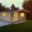 Gartenhaus WISSOUS (34 mm) 5x5 m, 25 m² customer 3
