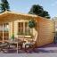 Gartenhaus WISSOUS (34 mm) 5x5 m, 25 m² visualization 1